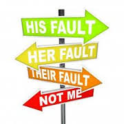 Blame signs