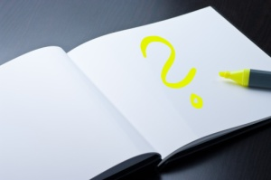 Image of a Book with a Question Mark