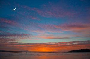 Sunset Pear Harbor