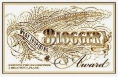 Very Inspring Blogger Award