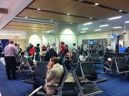 Aiport Terminal Waiting