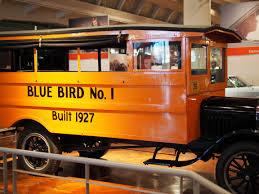 First Blue Bird School Bus