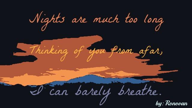 barely breathe haiku image