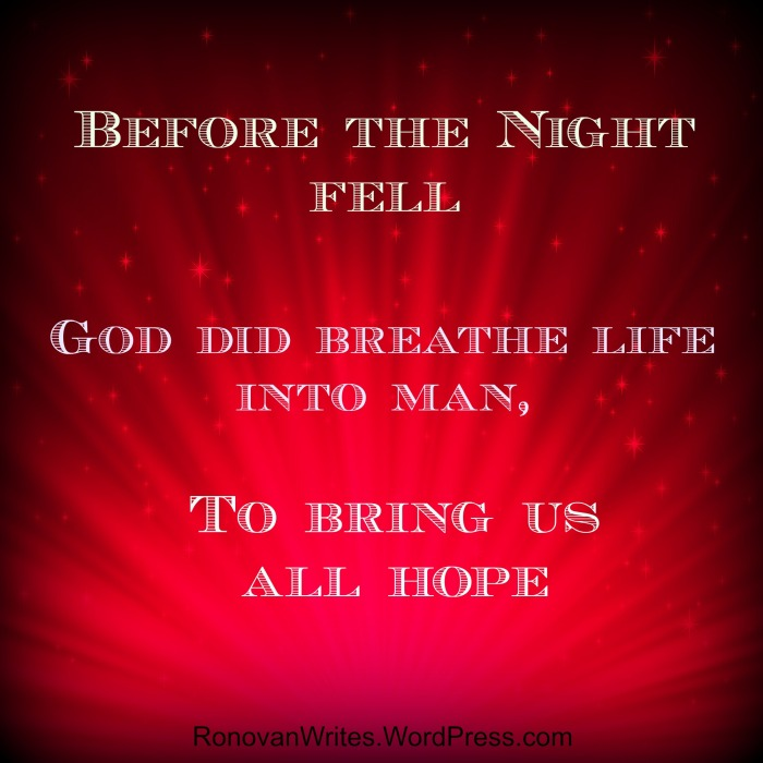 god did breathe life into man haiku poetry
