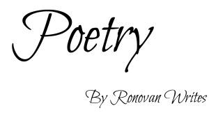 poetry-ronovan-writes