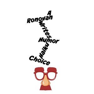 ronovan writes humor haiku badge