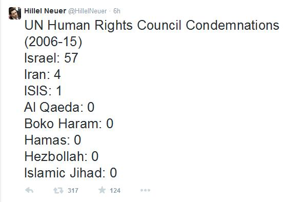 UN Human Rights Council Blind