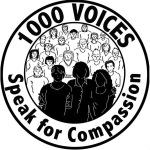 1000 voices speak for compassion