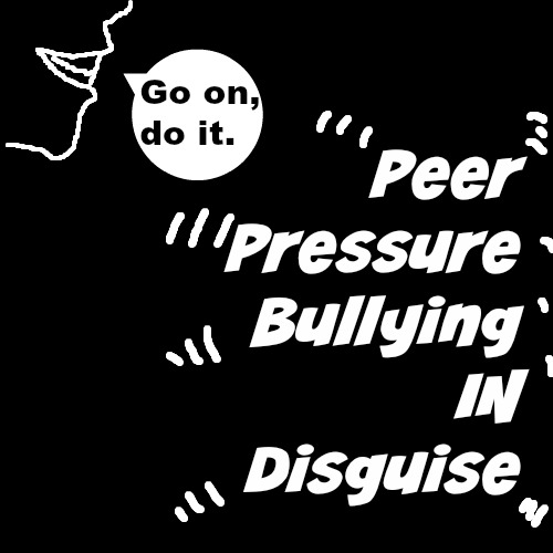 bullying and peer pressure An interaction effect between peer-group pressure and negative attitude toward  mims bullying is hypothesized and demonstrated based on data (n = 424).