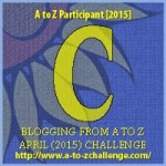 Image of the Letter C for the A to Z Blogging Challenge