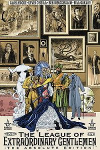 League of Extraordinary Gentlemen cover.