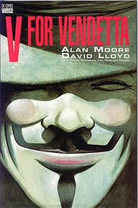V for Vendetta cover.