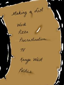 making-list