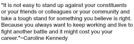 caroline kennedy quote image