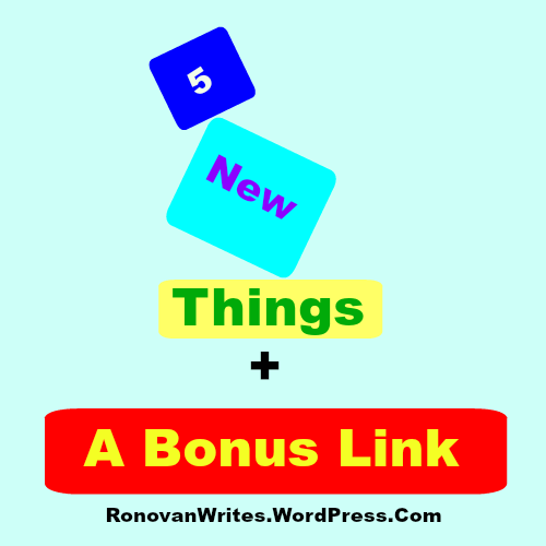 five new things image