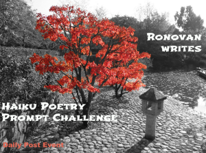 Ronovan Writes Haiku Challenge