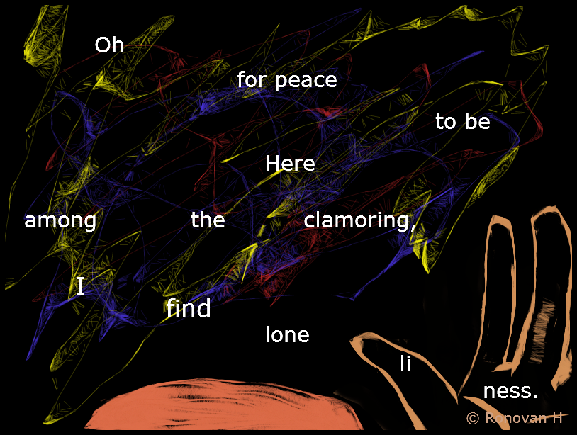 Here a Haiku by Ronovan
