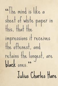 Julius Charles Hare Impressions