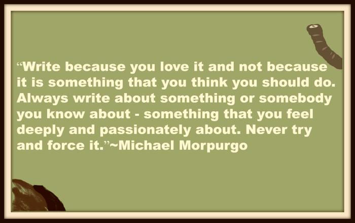 Michael Morpurgo quote image