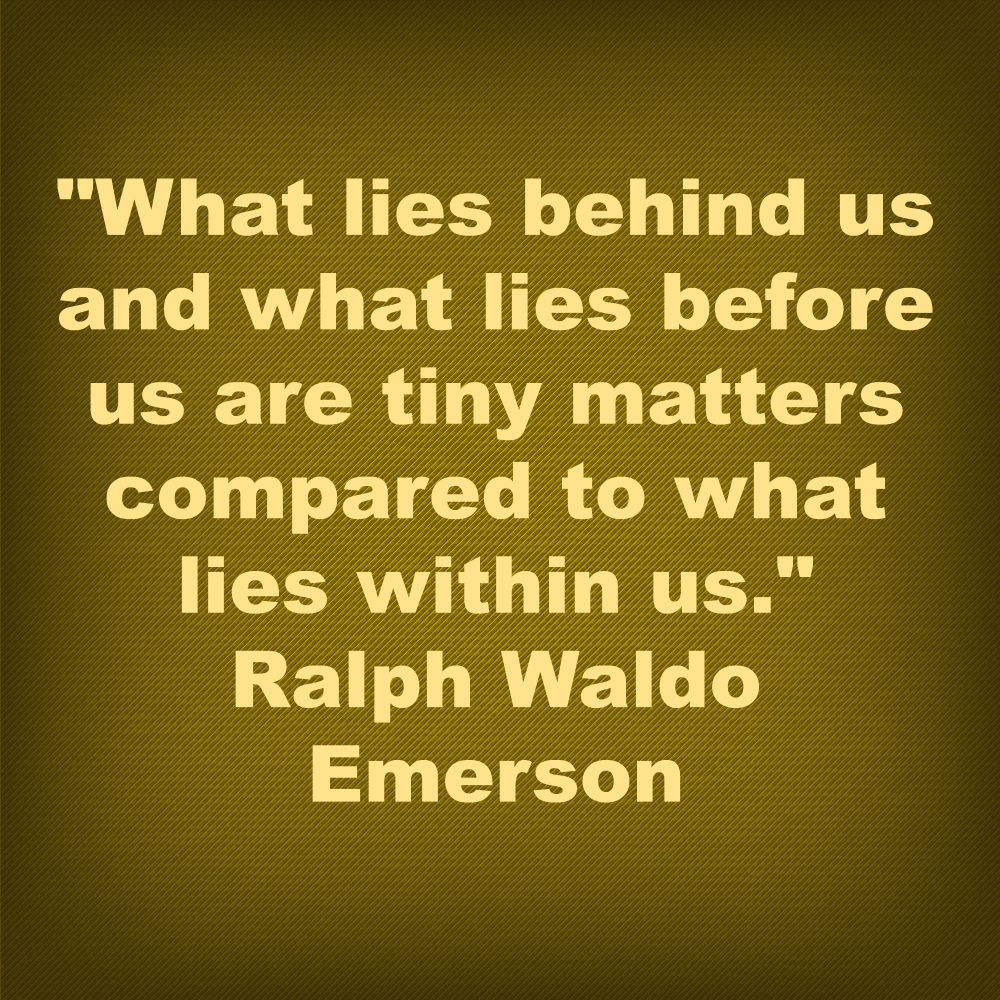 Ralph Waldo Emerson quote image