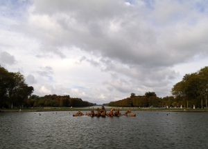 Clouds gather over Versailles