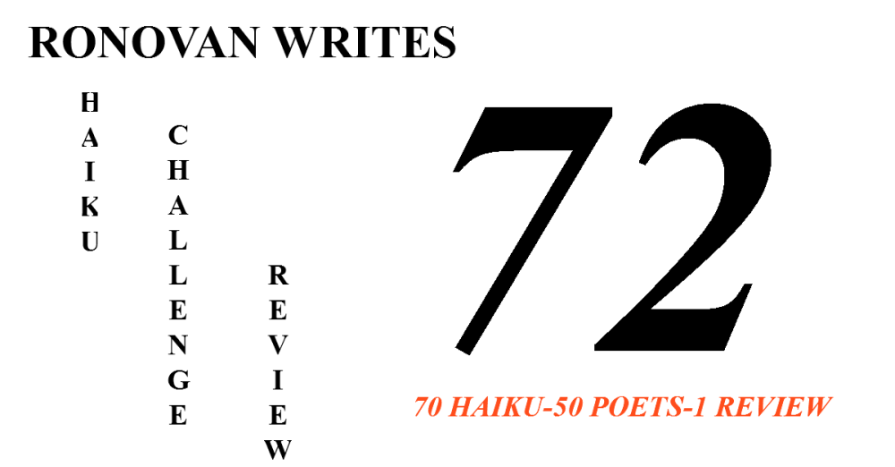Ronovan Writes Haiku Challenge Review 72