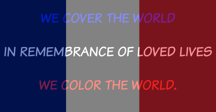 We Color The World A Haiku-Ronovan