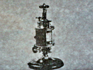Elijah McCoy's Lubricator Cup for Steam Engines