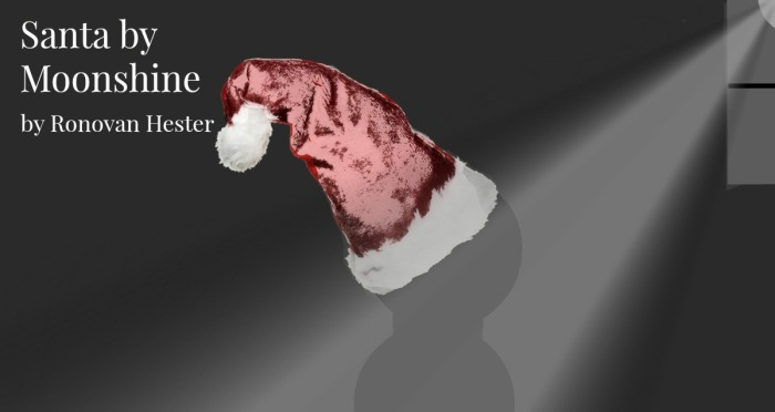 Santa by Moonshine by Ronovan Hester