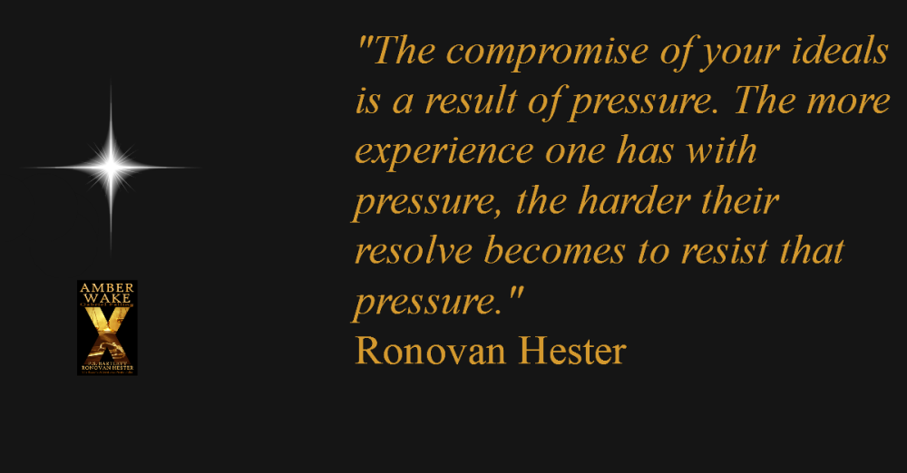 Ronovan Hester Quote about Pressure