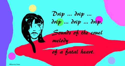 Dripping Melody; Art and Haiku Poetry by Ronovan Hester