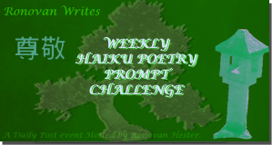 Ronovan Writes Haiku Challenge Image 2016