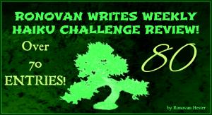 Ronovan Writes Haiku Review 80
