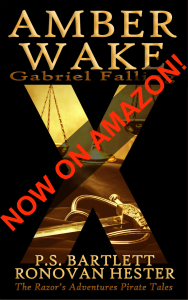 Amber Wake: Gabriel Falling on Amazon