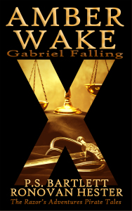 Amber Wake-Gabriel Falling by PS Bartlett and Ronovan Hester