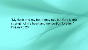 Psalm 73:26 Image