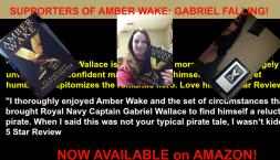 Amber Wake: Gabriel Falling Supporters.