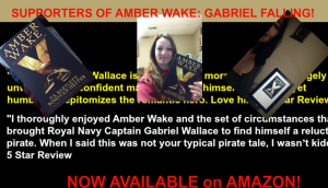 Amber Wake: Gabriel Falling Supporters.