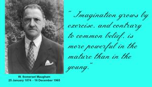 W. Somerset Maugham Imgatination Quote