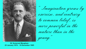 W. Somerset Maugham Imgatination Quote