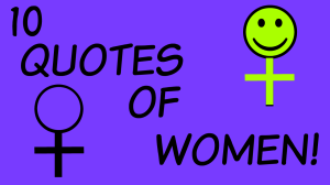 10 Quotes About Women