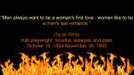 Oscar Wilde Romance Quote