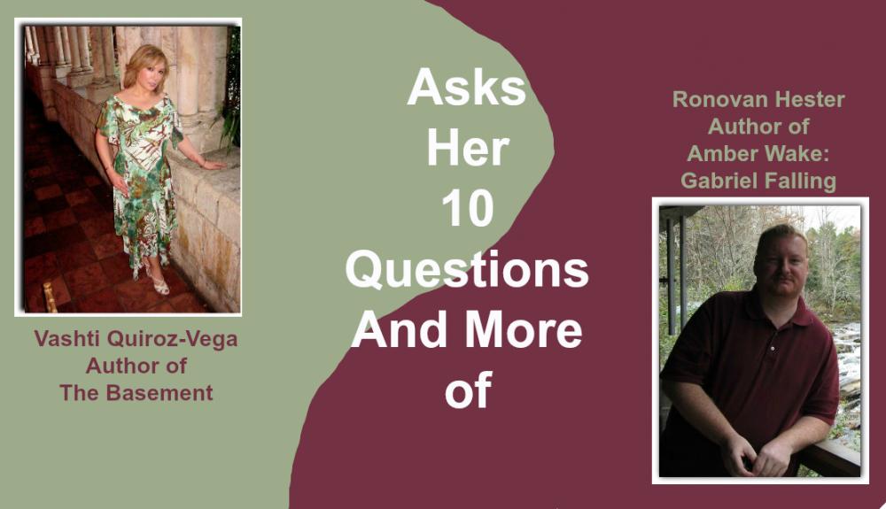 Vashti Quiroz-Vega interviews Ronovan Hester