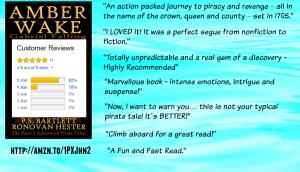 Amber Wake: Gabriel Falling Review Image.