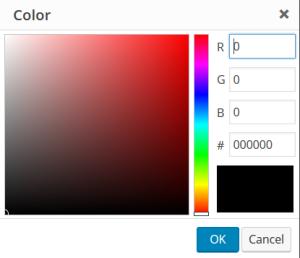 Custom Font Color Image