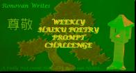 Ronovan Writes Haiku Challenge Image.
