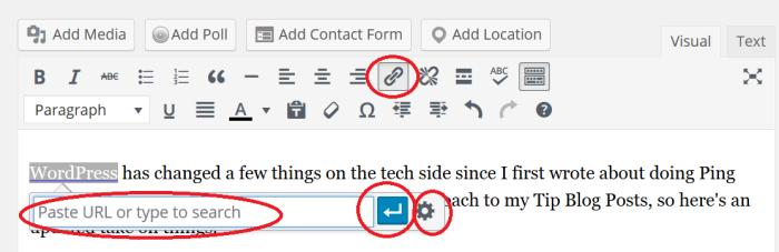 WordPress Ping Backs Image