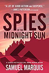 Spies of the midnight sun book cover image.
