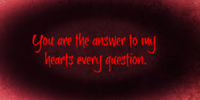 You Are The Answer quote image
