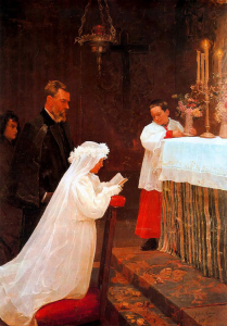 The First Communion by Picasso
